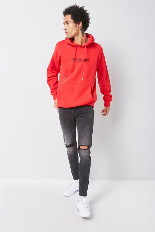 Revolution Embroidered Graphic Hoodie, image 4