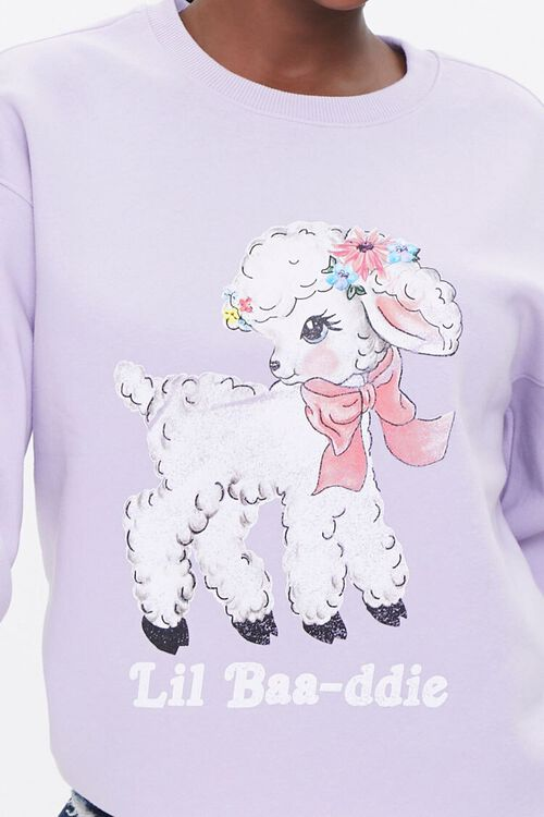 Lil Baa-ddie Graphic Pullover, image 5
