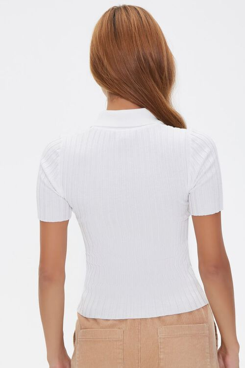 Sweater-Knit Polo Shirt, image 3