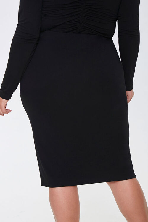 Plus Size High-Rise Skirt, image 4