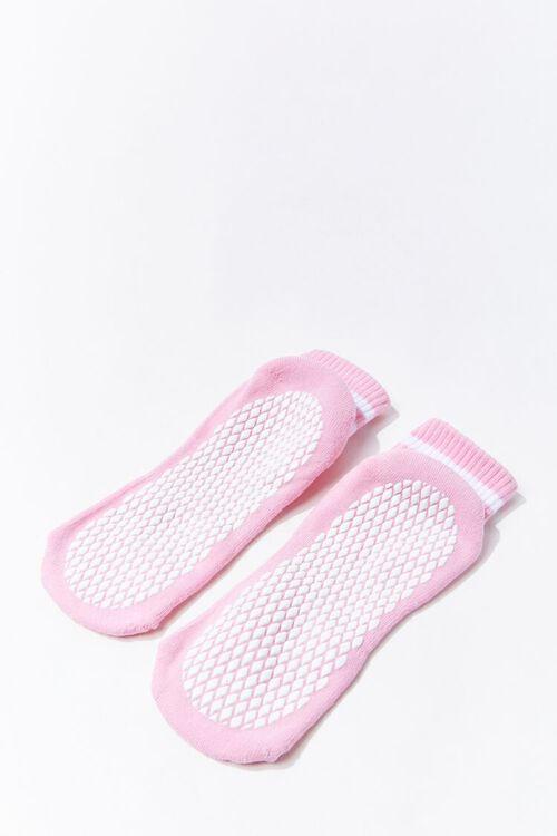 Varsity-Striped Ankle Socks, image 2