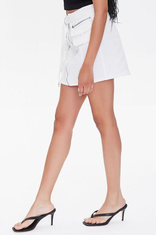 Denim Paperbag Mini Skirt, image 3