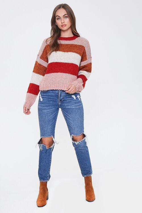 Striped Drop-Shoulder Sweater, image 4
