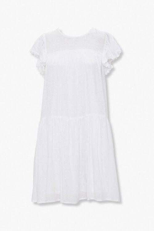 Clip Dot Shift Mini Dress, image 1