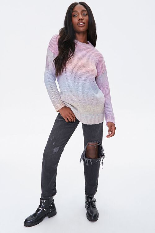 Watercolor Ribbed Sweater, image 4