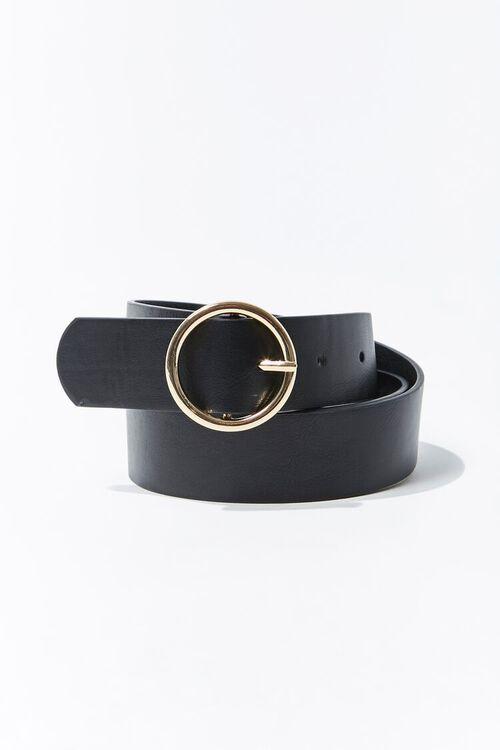 Round Buckle Belt, image 1