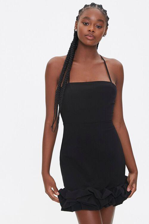 Ruffle-Trim Bodycon Dress, image 1