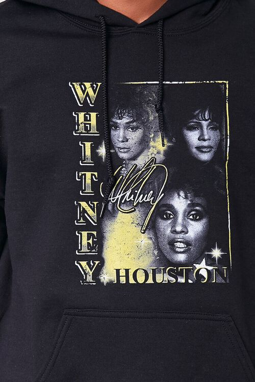 BLACK/MULTI Whitney Houston Graphic Hoodie, image 5