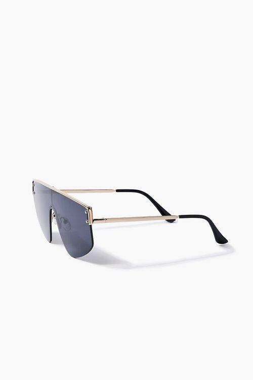 Bar-Accent Shield Sunglasses, image 3