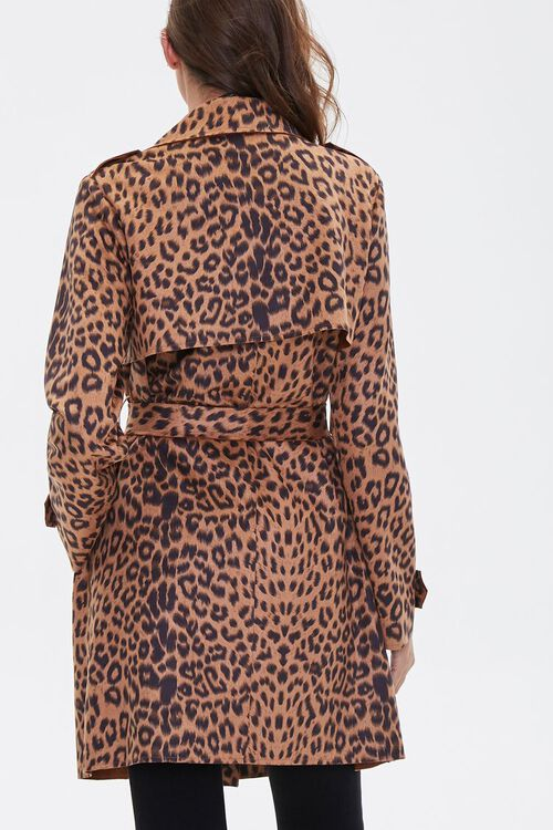 Leopard Print Wrap Jacket, image 3