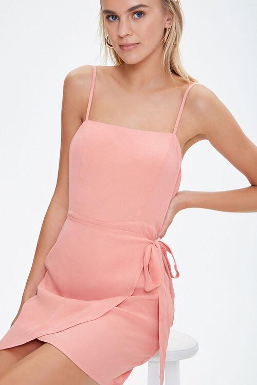 Cami Self-Tie Overlay Mini Dress, image 1