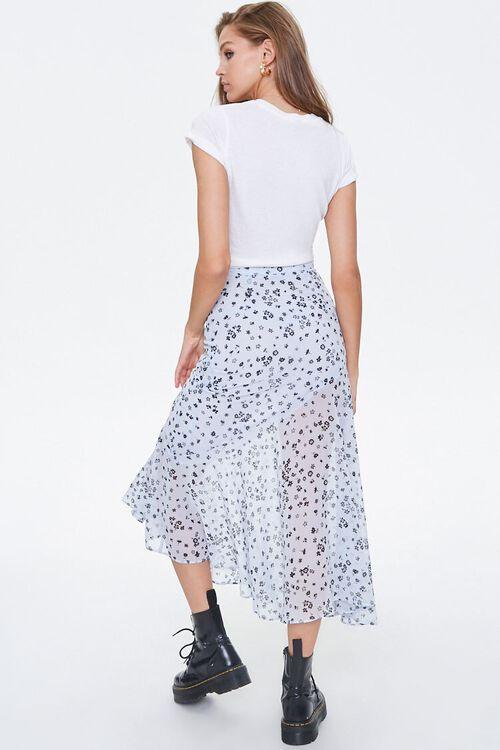 Chiffon Floral Maxi Skirt, image 4