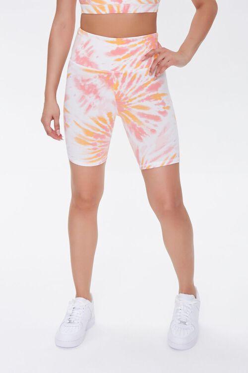 Active Tie-Dye Biker Shorts, image 2