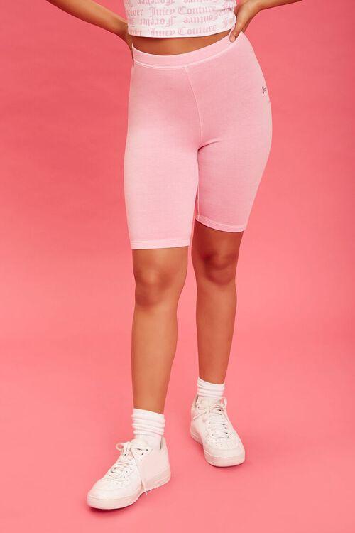 PINK/BLACK Juicy Couture Biker Shorts, image 2