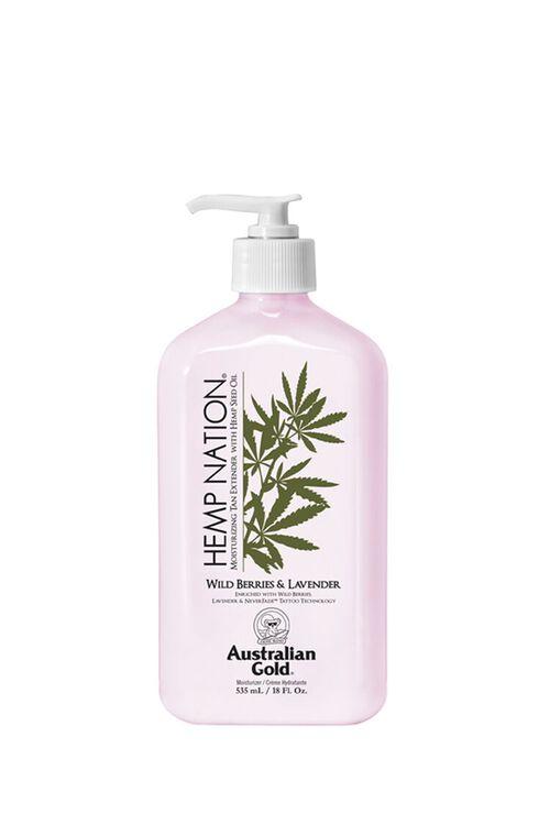 Wild Berries & Lavender Moisturizing Hemp Seed Oil Tan Extender , image 1