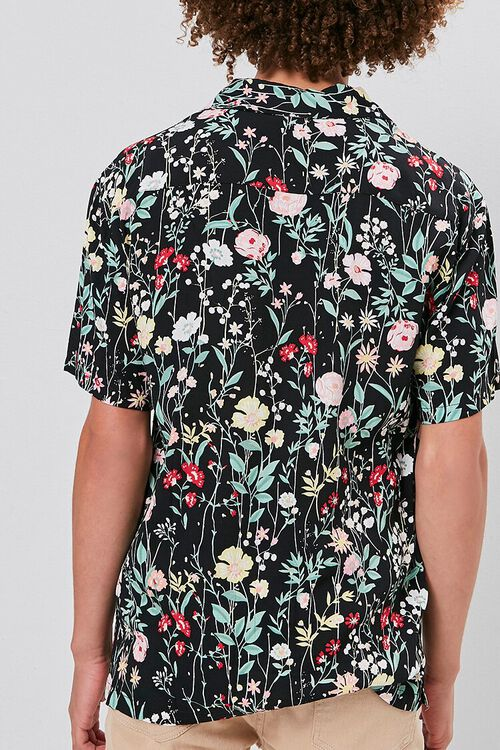 Floral Print Buttoned Shirt, image 4