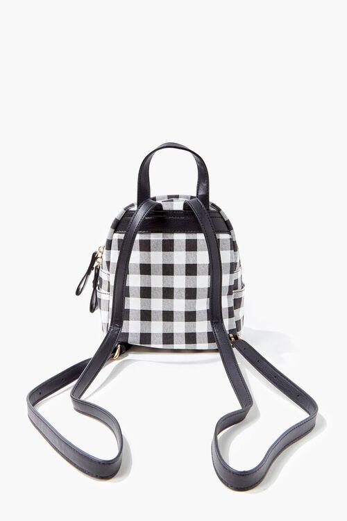 Buffalo Plaid Mini Backpack, image 3