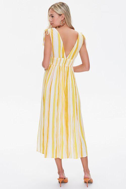 Crinkled Striped M-Slit Dress, image 3