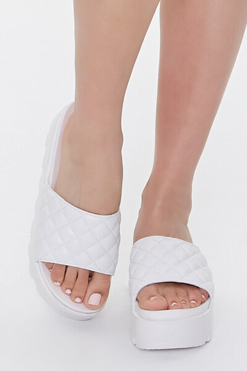 Quilted Slip-On Wedges, image 4