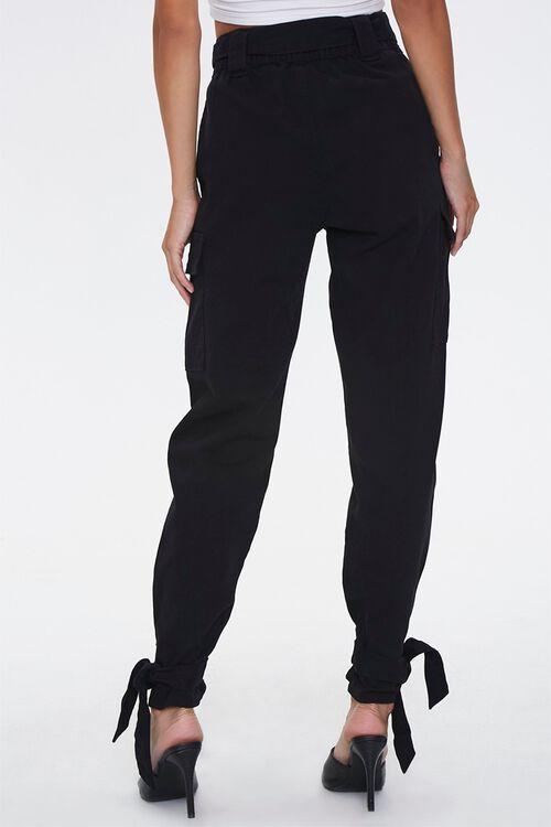 Tie-Waist Cargo Pants, image 4