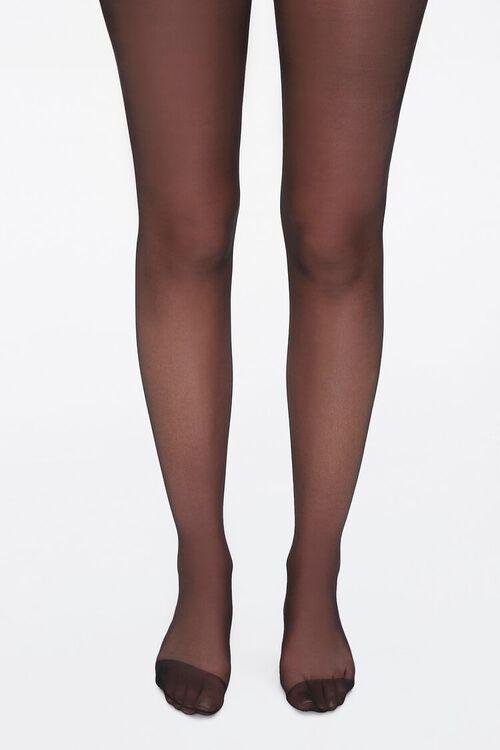 Sheer Nylon-Blend Tights, image 4