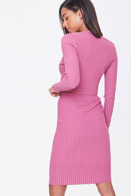 Ribbed Top & Pencil Skirt Set, image 3