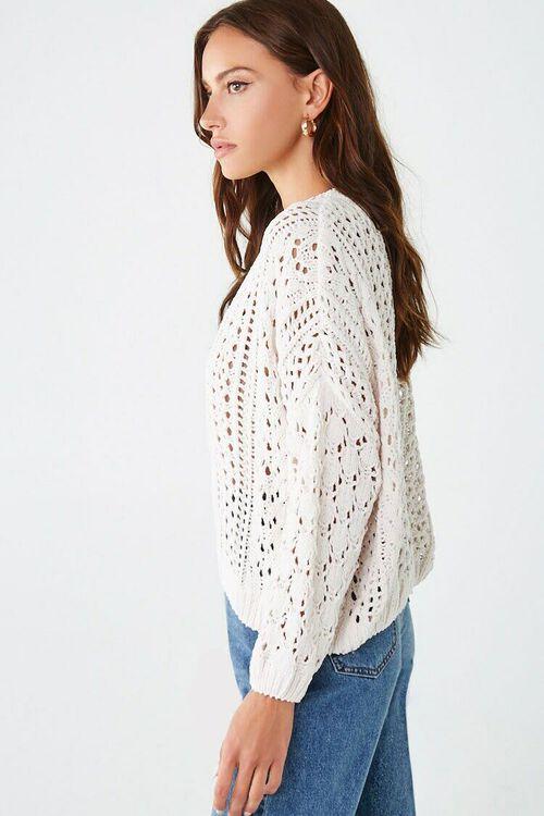 CREAM Open-Knit Chenille Sweater, image 2