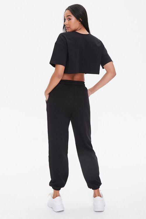Cropped Tee & Sweatpants Set, image 3