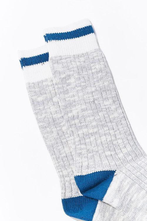 Men Marled Crew Socks, image 2
