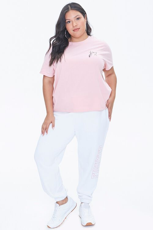 Plus Size Stand Up To Cancer Fighter Joggers, image 5