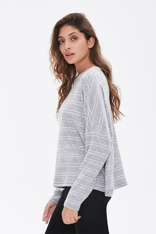 Striped Drop-Sleeve Top, image 2