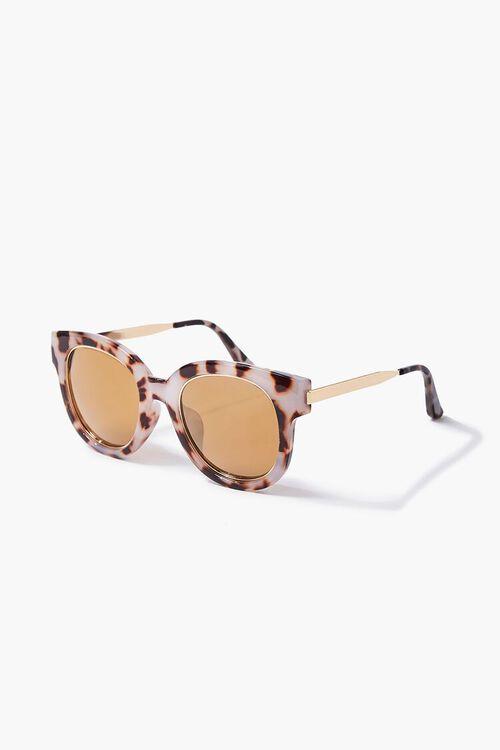 Tortoiseshell Oversized Sunglasses, image 2