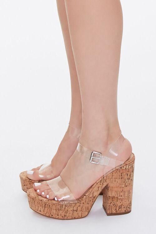 Translucent Platform Block Heels, image 2
