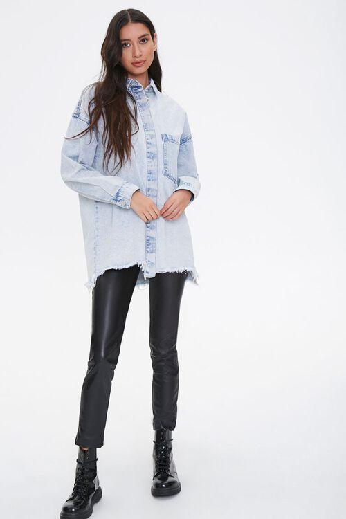 Frayed Denim Jacket, image 4