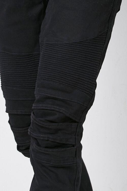Skinny Moto Denim Pants, image 5