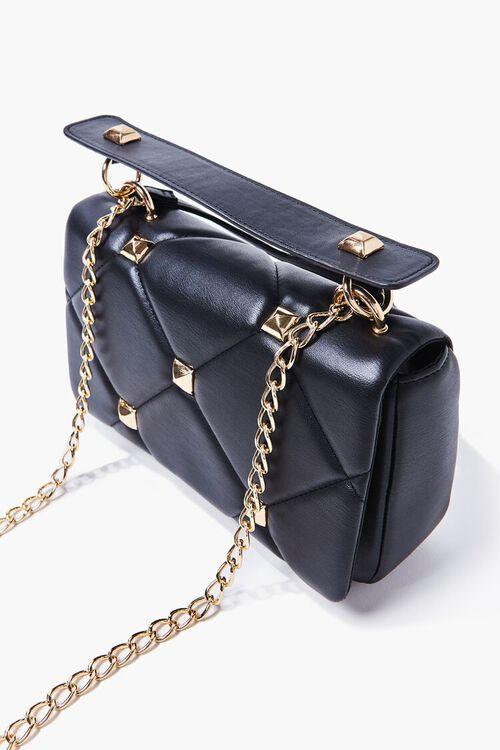 Studded Quilted Shoulder Bag, image 4
