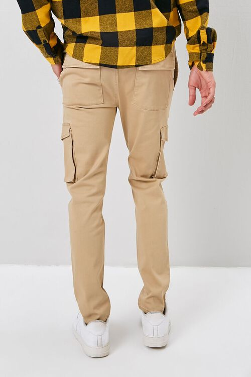 Drawstring Chino Cargo Pants, image 4