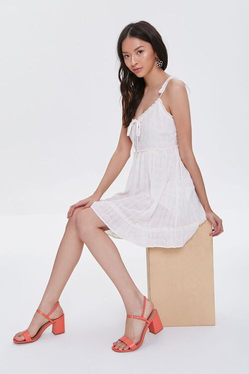 CREAM Ruffle-Trim Mini Dress, image 1