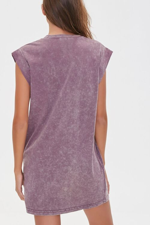 Mineral Wash T-Shirt Dress, image 3