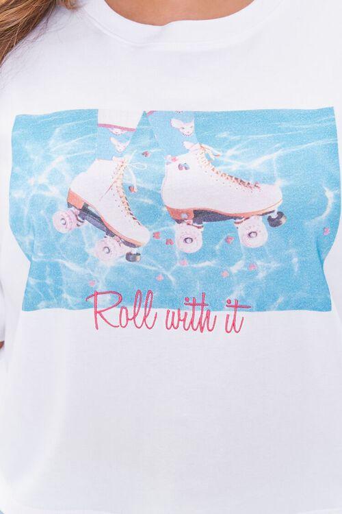 Plus Size Moxi Skates Graphic Tee, image 5