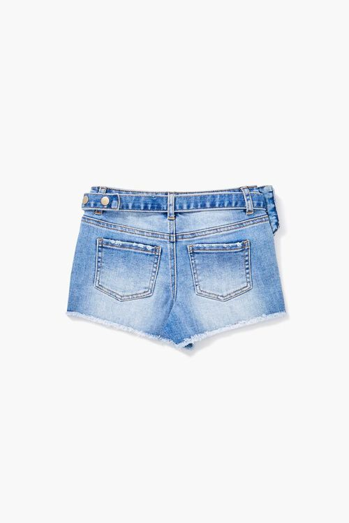 Girls Belt Bag Denim Short (Kids), image 2