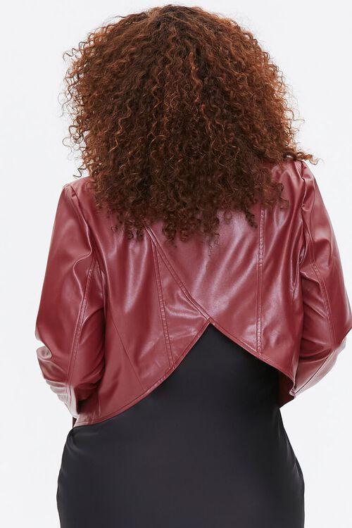 Plus Size Vented Moto Jacket, image 3