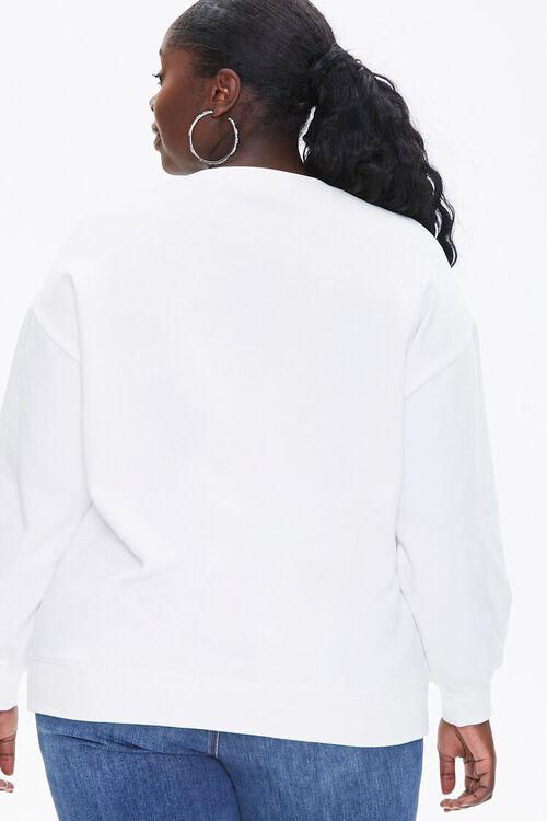 Plus Size Fleece Pullover, image 3