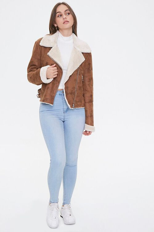 Faux Shearling & Suede Jacket, image 4
