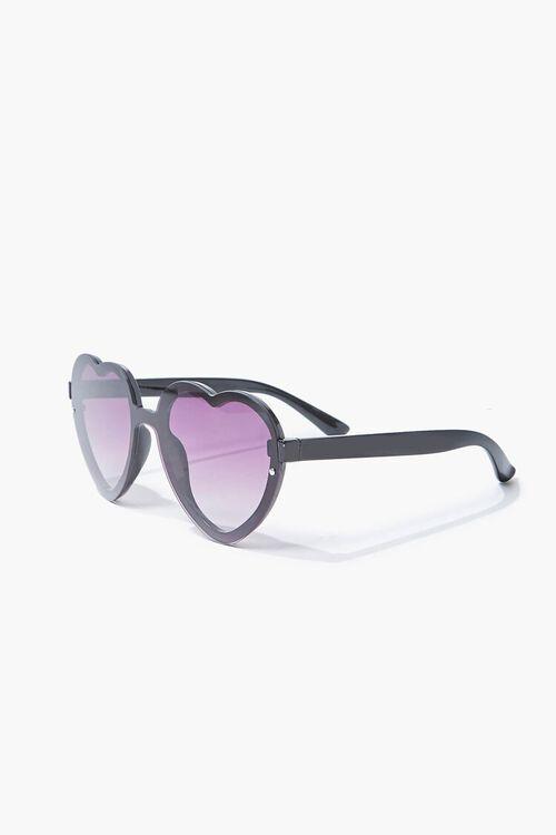Slim Heart-Shaped Sunglasses, image 2