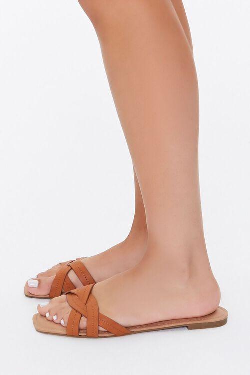 Braided Crisscross Sandals, image 3