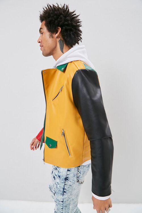 Colorblock Moto Jacket, image 3