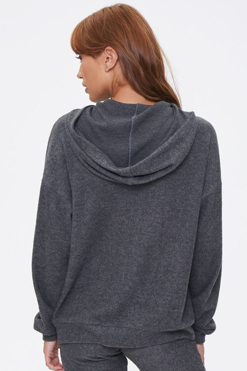 Hooded Drop-Shoulder Top, image 3