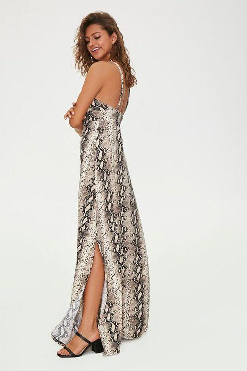 Snake Print Maxi Dress, image 2