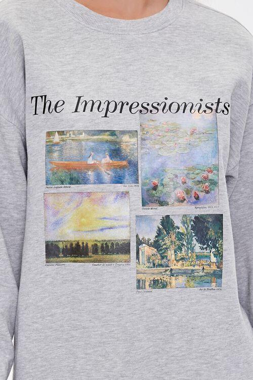 The Impressionists Graphic Fleece Hoodie, image 5